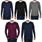 Slazenger Seve Mens Knitted V Neck Golf Casual Pullover Jumper Sweater