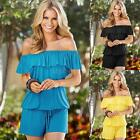 New Summer Women's Jumpsuit Romper Clubwear Bodycon Party Playsuit Trousers C0S2