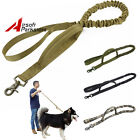 Tactical Outdoor Dog Leash Belt Police Training Elastic Bungee Military Canine