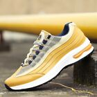 Male Lace Up Sneakers Men Leisure Sports Trainers Splicing Fitness Jogging Shoes