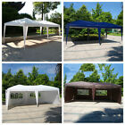 New 10' X 20'Outdoor Easy Pop up Folding Canopy Gazebo Cover Wedding Party Tent
