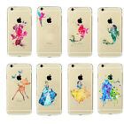 Disney Gift Cartoon Princess Ariel Crystal Hard Fitted Cover Case For iPhone