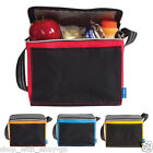 6 Can Insulated Cool Cooler Picnic Thermal Portable Lunch Carry Storage Tote Bag