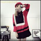 Hot Sale Ladies Womens Long Sweater Autumn Loose Casual Student College Shirts