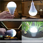 E27 5/7/9/12W Rechargeable White LED Bulb Emergency Camping Hunting Light Lamp