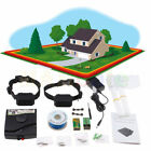 Underground Waterproof 2 Shock Collars Dog Training Electric Fence System