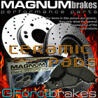 "Front Drilled Rotors & Ceramic Pads for 2002-2005 Chevrolet Trailblazer (129""WB)"