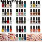 4Pcs/Set  Nail Polish Nail Art Top Coat Varnish Soak off Choose Colors set 6ml