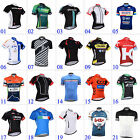 New Fashion Mens Outdoor Sports Wear Cycling Full Zipper Jerseys Polyester Tops