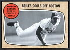 1968 Topps #153 WS Game 3 Nelson Briles NRMT 88707