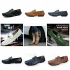 Fashion British Men's Casual Slip On Loafer Leather Moccasins Driving Shoes