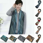 FL Mens Winter Warmer Long Pashmina Scarf Artificial Wool Tassels Scarves Shawl