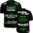 Stryker Shorts Sleeve Walk Out Shirt  MMA UFC Pain Is Temp w 1 Tapout Sticker *