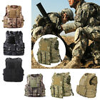 Tactical Vest Military Airsoft Molle Combat Assault Plate Carrier Swat Waistcoat $29.99 USD