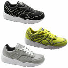 Puma Trinomic R698 x ICNY Mens Trainers Shoes Black Yellow Silver 358561 360136