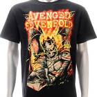 Sz S M L XL XXL 2XL Avenged Sevenfold A7X T-shirt  Black Many Size Av123