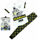 Womens Batwoman Don't Mess Fearless T-Shirt Top Gift Pack Pyjamas Sizes 8 to 22