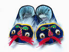 TRADITIONAL ORIENTAL FOLK BLUE TIGER SHOES KID BABY ARTS & CRAFTS GIFT IDEA