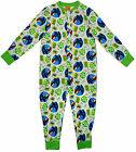 Boys Angry Birds Catapult Aim Fire Popper Sleepsuit Romper 4 to 10 Years