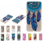 Ultra Thin Blossom Flowers Mandala Crystal Rubber Gel Back Case Cover For iPhone