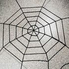 "Black Halloween Home Decoration Funny Props Rope Spider Web Spiderweb 59"" / 98"""