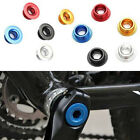 Fantastic Anodized Arm Fixing Bolt Bicycle Crank Chainset Screw Axis