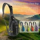 Mens Bike Travel Hiking Messenger Shoulder Sling Chest Bag Cross Body UU E7G4