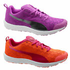 Puma Evader XT NU Womens Running Fitness Trainers Lace Up Purple Orange 188562