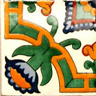 #C068 MEXICAN CERAMIC HANDMADE TALAVERA TILE SETS