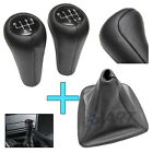 POMO DE CUERO + FUNDA NEGRA PARA BMW Z3 LEATHER KNOB + GAITER BOOT