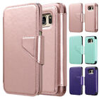 For Samsung Galaxy S7 Luxury Leather Removable Magnetic Wallet Flip Cover Case