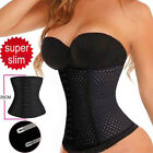 Women's Body Shaper Latex Rubber Waist Trainer Cincher Underbust Shapewear New