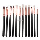 12pcs/Set Makeup Cosmetic Brushes Powder Foundation Eyeshadow Lip Tool S0BZ