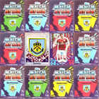 TOPPS Match Attax 2016 2017 football cards Base MOM Burnley - VARIOUS