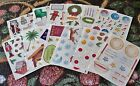 Creative Memories Block Sticker Sheet~You Choose One~Christmas Holiday
