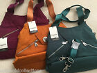 Large BAGGALLINI MADRID TOTE Mustard or Forest Green $109.95 Value ON SALE