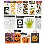 HALLOWEEN Gift BAGS (Trick Or Treat/Party/Candy Bags/Sacks) Choose Size/Theme