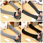 1 Pair Fashion Womens Soft Warm Long Fingerless Gloves Winters Hands Protection