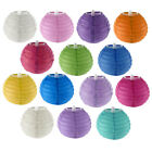 Christmas Party Paper Handmade Lantern Shade String Light Decor 4 Inches
