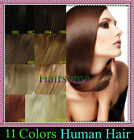 """18-22"""" Full Head Loop Micro Rings Beads Tipped Remy Real Human Hair Extentions"""
