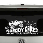 Home Decoraters Catalog Rock Crawling Jeep Nobody Cares About Your Stick Figure Family Vinyl Decal Stein Mart Home Decor