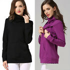 New Long Sleeve Maternity Clothes Breastfeeding Tops Nursing Top Womens T-shirt