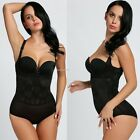 Sexy Women Lace Body Shaper Ladies Waist Trainer Bodysuit Shapewear Hot B20E