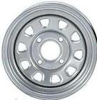 2-ITP Delta Silver Steel Wheel Front Yamaha 02-14 550/700/660 Grizzly 4x4-373631