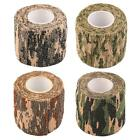 ARCHERY-HUNTING-FISHING SELF ADHESIVE CAMOUFLAGE WRAP TAPE 4 COLORS