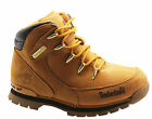 Timberland Euro Rock Hiker Kids Boots Youths Hiking Wheat Leather 3070R D17