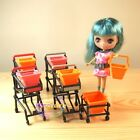 Miniatures Life Department Store Petite BLYTHE Shopping Cart Trolley Basket