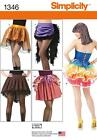 Simplicity SEWING PATTERN 1346 Misses Costume Skirts & Bustles 6-14 or 14-22