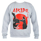 SWEATSHIRT CREWNECK MMA AIKIDO IDEAL FOR GYM MMA TRAINING FIGHTERS SPORT CASUAL