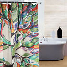 Shower Curtain Fashion Tree Patterns Waterproof Fabric Curtain Bathroom Decor